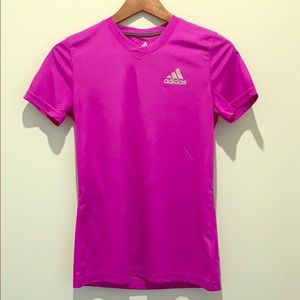 Adidas women's climalite ultimate tee shirt v neck